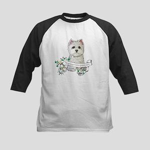 Loyal Westhighland Terrier Kids Baseball Jersey