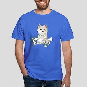 Loyal Westhighland Terrier Dark T-Shirt