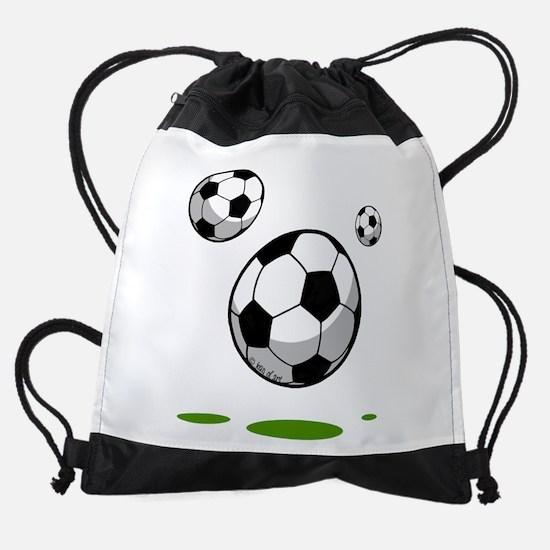 Soccer (8) Drawstring Bag