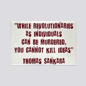 Thomas Sankara Rectangle Magnet
