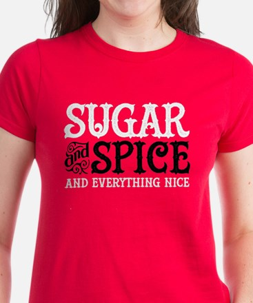 Sugar and Spice Women's Dark T-Shirt