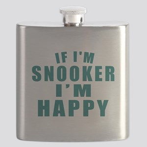 If I Am Snooker Flask