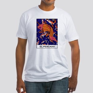 El Pescado Fitted T-Shirt