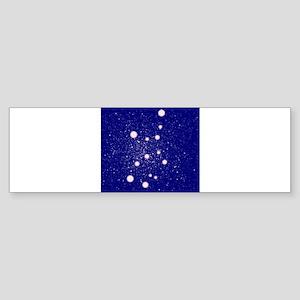 Constellation of Virgo Bumper Sticker