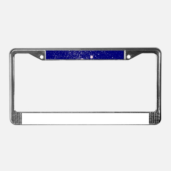Constellation of Virgo License Plate Frame