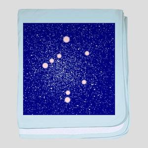 Constellation of Libra baby blanket