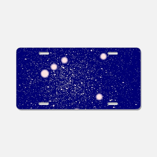Constellation of Libra Aluminum License Plate