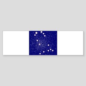 Constelation of Gemini Bumper Sticker