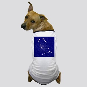 Constelation of Gemini Dog T-Shirt