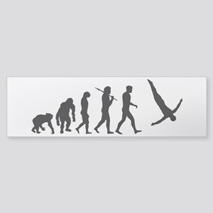 Diving Evolution Sticker (Bumper)