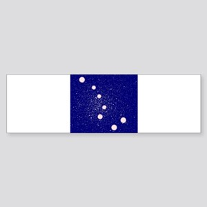 The Big Dipper Constellation Bumper Sticker