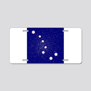 The Big Dipper Constellatio Aluminum License Plate