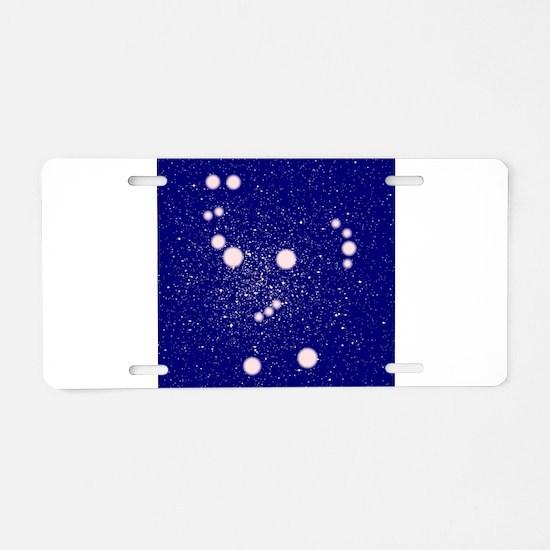 Orion Constellation Aluminum License Plate