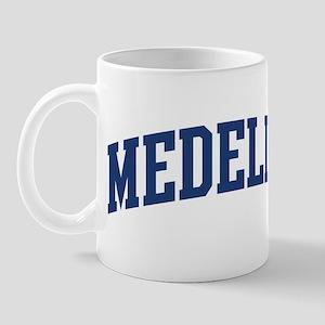 MEDELLIN design (blue) Mug