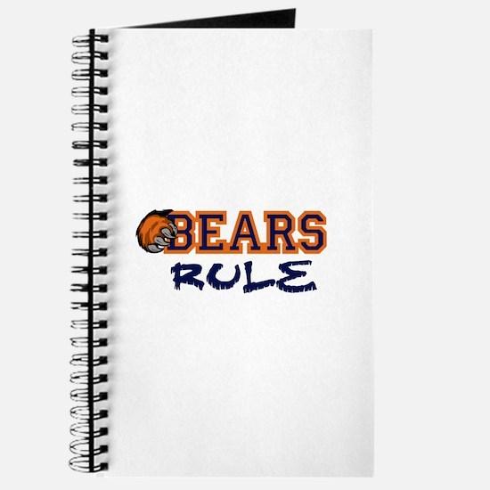 Bears Rule Journal