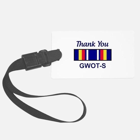GWOT Service Luggage Tag