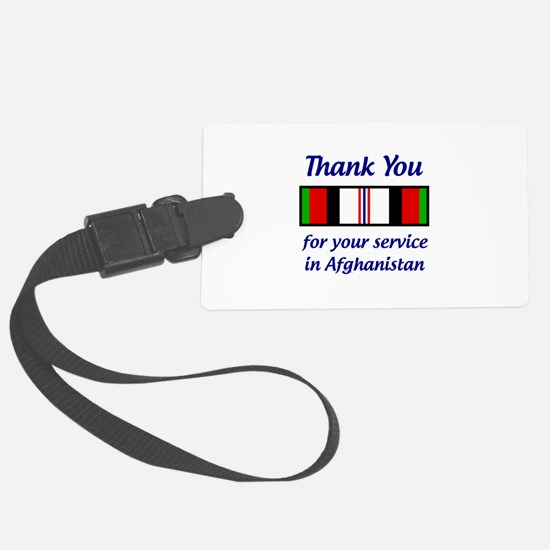 Service In Afghanistan Luggage Tag