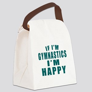 If I Am Gymnastics Canvas Lunch Bag