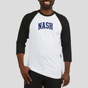 NASH design (blue) Baseball Jersey