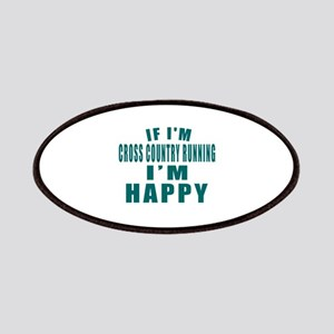 If I Am Cross Country Running Patch
