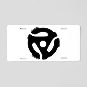 Record Spider Aluminum License Plate