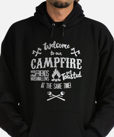 Campfire Marshmallow and Friends Hoody