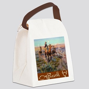 Russell Large Poster Canvas Lunch Bag