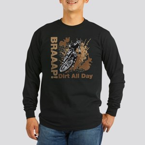 Motocross Dirt Bike Long Sleeve T-Shirt