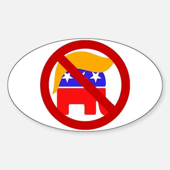 No Trump Decal