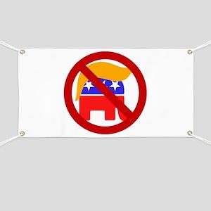 No Trump Banner