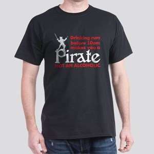Pirate Drinking Humor T-Shirt