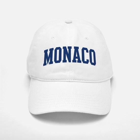 MONACO design (blue) Baseball Baseball Cap