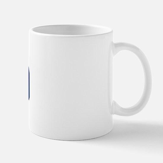 MONACO design (blue) Mug