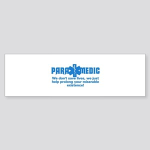 Star of Life Paramedic Bumper Sticker