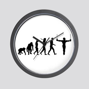 Rings Gymnast Wall Clock