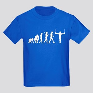 Rings Gymnast Kids Dark T-Shirt