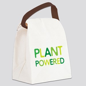 Plant Powered Canvas Lunch Bag
