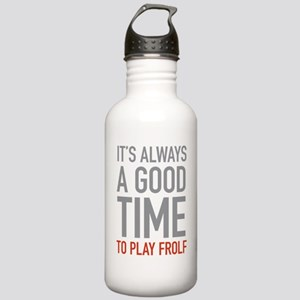 Play Frolf Stainless Water Bottle 1.0L