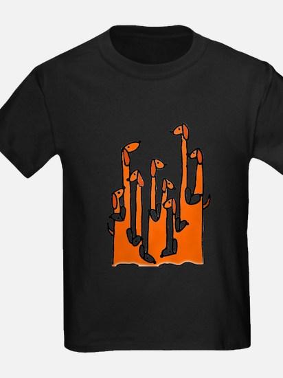 Dachshund Reflections T-Shirt