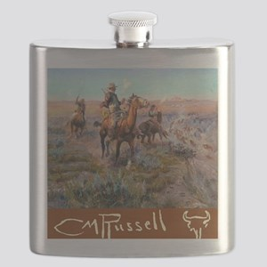 Russell Large Poster Flask