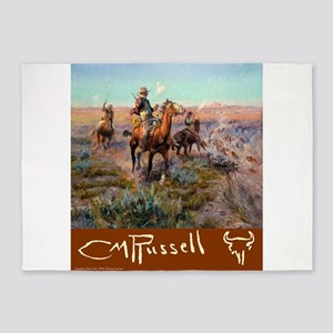 Russell Large Poster 5'x7'Area Rug