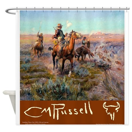 Russell Large Poster Shower Curtain by Admin_CP3038123