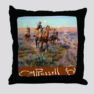 Russell Large Poster Throw Pillow