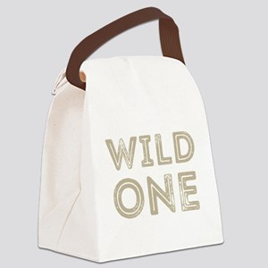 Wild One Canvas Lunch Bag