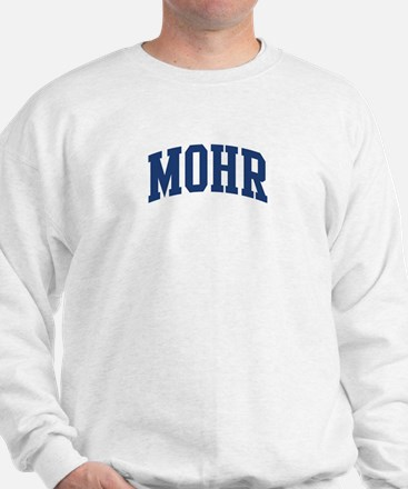 MOHR design (blue) Sweatshirt