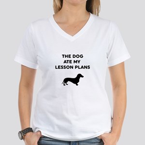The Dog At My Lesson Plans T-Shirt