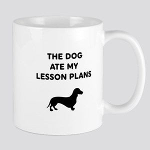 The Dog At My Lesson Plans Mugs