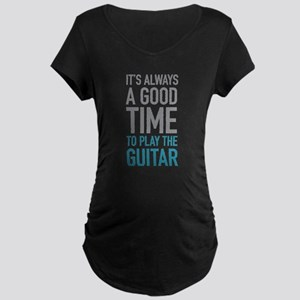 Play Guitar Maternity T-Shirt