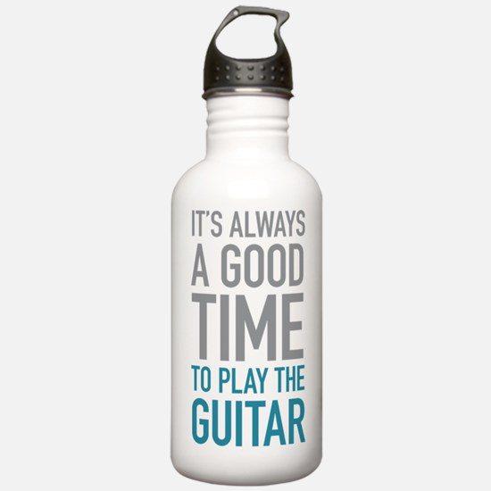 Play Guitar Water Bottle