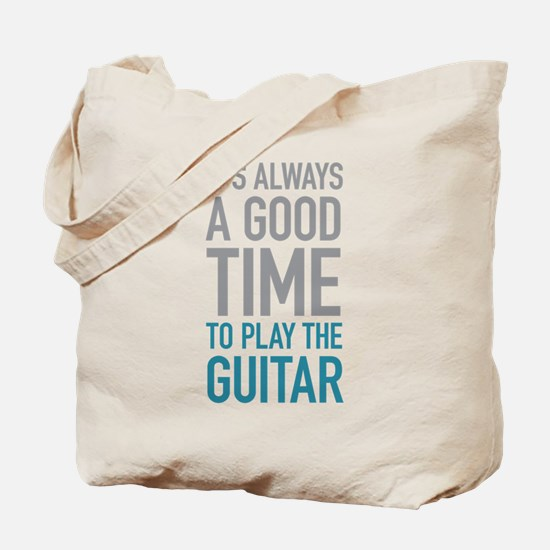 Play Guitar Tote Bag